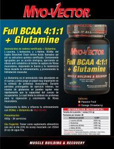 Complemento Full BCAA + Glutamine